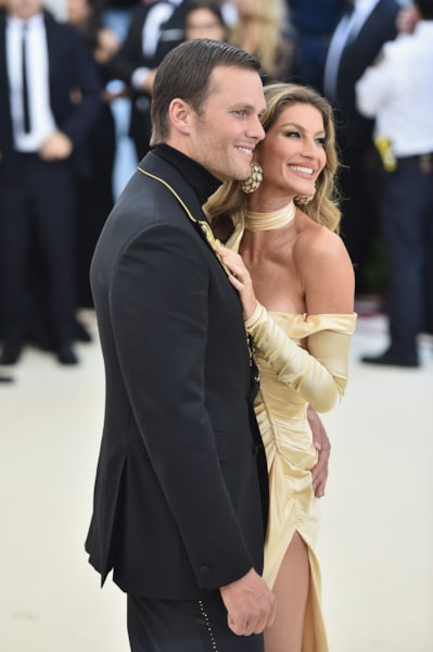 Tom Brady and Gisele Bundchen  (Photo by Jason Kempin/Getty Images)