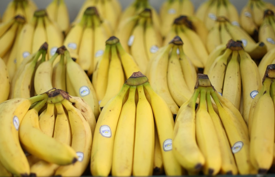 Eat A Banana:  Just like those starches, bananas are easy on your stomach. Plus, they contain potassium, which is a key component in regulating your body's fluid balance.