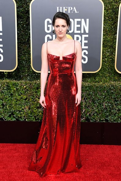 BEVERLY HILLS, CA - JANUARY 06:  Phoebe Waller-Bridge attends the 76th Annual Golden Globe Awards at The Beverly Hilton Hotel on January 6, 2019 in Beverly Hills, California.  (Photo by Frazer Harrison/Getty Images)