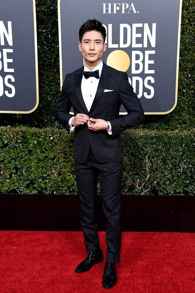 BEVERLY HILLS, CA - JANUARY 06:  Manny Jacinto attends the 76th Annual Golden Globe Awards at The Beverly Hilton Hotel on January 6, 2019 in Beverly Hills, California.  (Photo by Frazer Harrison/Getty Images)