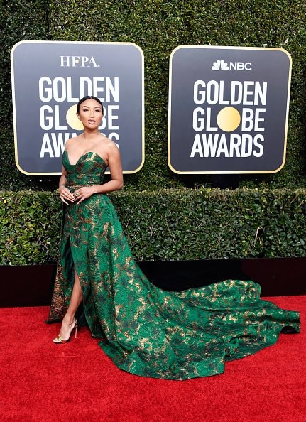 BEVERLY HILLS, CA - JANUARY 06:  Jeannie Mai attends the 76th Annual Golden Globe Awards at The Beverly Hilton Hotel on January 6, 2019 in Beverly Hills, California.  (Photo by Frazer Harrison/Getty Images)