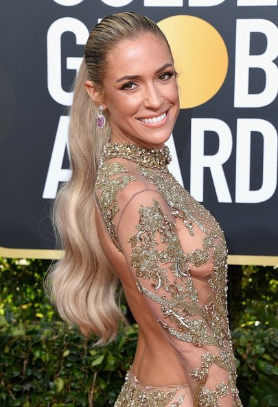 BEVERLY HILLS, CA - JANUARY 06:   Kristin Cavallari attends the 76th Annual Golden Globe Awards at The Beverly Hilton Hotel on January 6, 2019 in Beverly Hills, California.  (Photo by Jon Kopaloff/Getty Images)
