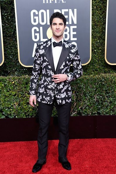BEVERLY HILLS, CA - JANUARY 06:  Darren Criss attends the 76th Annual Golden Globe Awards at The Beverly Hilton Hotel on January 6, 2019 in Beverly Hills, California.  (Photo by Frazer Harrison/Getty Images)