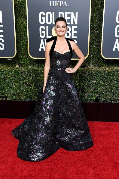 BEVERLY HILLS, CA - JANUARY 06:  Penélope Cruz attends the 76th Annual Golden Globe Awards at The Beverly Hilton Hotel on January 6, 2019 in Beverly Hills, California.  (Photo by Jon Kopaloff/Getty Images)
