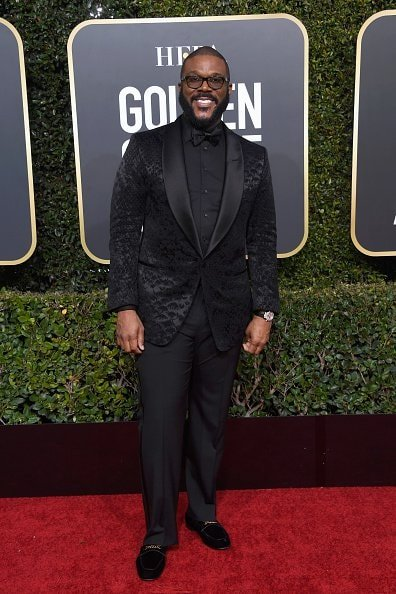 BEVERLY HILLS, CA - JANUARY 06: Tyler Perry attends the 76th Annual Golden Globe Awards at The Beverly Hilton Hotel on January 6, 2019 in Beverly Hills, California.  (Photo by Frazer Harrison/Getty Images)
