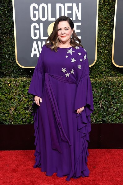 BEVERLY HILLS, CA - JANUARY 06:  Melissa McCarthy attends the 76th Annual Golden Globe Awards at The Beverly Hilton Hotel on January 6, 2019 in Beverly Hills, California.  (Photo by Frazer Harrison/Getty Images)