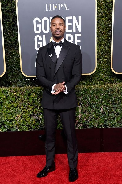 BEVERLY HILLS, CA - JANUARY 06:  Michael B. Jordan attends the 76th Annual Golden Globe Awards at The Beverly Hilton Hotel on January 6, 2019 in Beverly Hills, California.  (Photo by Frazer Harrison/Getty Images)