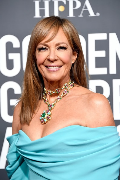 BEVERLY HILLS, CA - JANUARY 06:  Allison Janney attends the 76th Annual Golden Globe Awards at The Beverly Hilton Hotel on January 6, 2019 in Beverly Hills, California.  (Photo by Frazer Harrison/Getty Images)