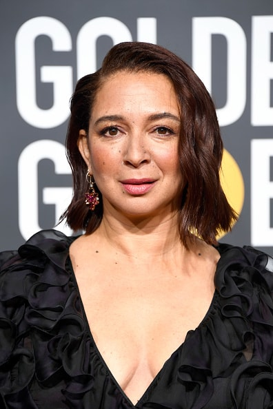 BEVERLY HILLS, CA - JANUARY 06:  Maya Rudolph attends the 76th Annual Golden Globe Awards at The Beverly Hilton Hotel on January 6, 2019 in Beverly Hills, California.  (Photo by Frazer Harrison/Getty Images)