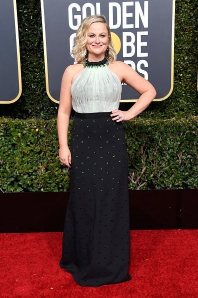 BEVERLY HILLS, CA - JANUARY 06:  Amy Poehler attends the 76th Annual Golden Globe Awards at The Beverly Hilton Hotel on January 6, 2019 in Beverly Hills, California.  (Photo by Frazer Harrison/Getty Images)