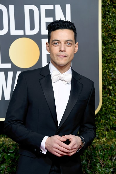 BEVERLY HILLS, CA - JANUARY 06:  Rami Malek attends the 76th Annual Golden Globe Awards at The Beverly Hilton Hotel on January 6, 2019 in Beverly Hills, California.  (Photo by Frazer Harrison/Getty Images)