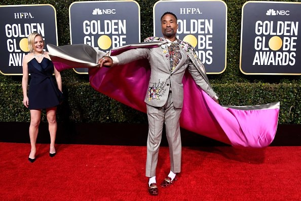 BEVERLY HILLS, CA - JANUARY 06:  Billy Porter attends the 76th Annual Golden Globe Awards at The Beverly Hilton Hotel on January 6, 2019 in Beverly Hills, California.  (Photo by Frazer Harrison/Getty Images)