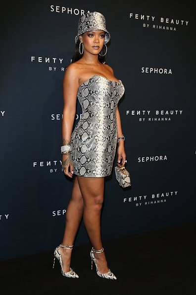 SYDNEY, AUSTRALIA - OCTOBER 03:  Rihanna attends the Fenty Beauty by Rihanna Anniversary Event at Overseas Passenger Terminal on October 3, 2018 in Sydney, Australia.  (Photo by Caroline McCredie/Getty Images for Fenty Beauty by Rihanna)