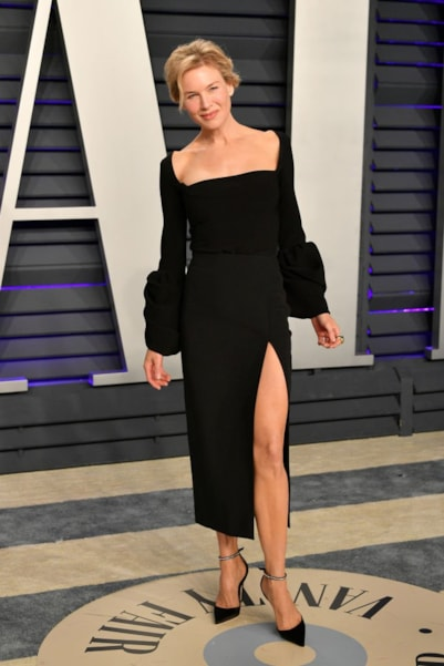 BEVERLY HILLS, CA - FEBRUARY 24:  Renee Zellweger attends the 2019 Vanity Fair Oscar Party hosted by Radhika Jones at Wallis Annenberg Center for the Performing Arts on February 24, 2019 in Beverly Hills, California.  (Photo by Dia Dipasupil/Getty Images)