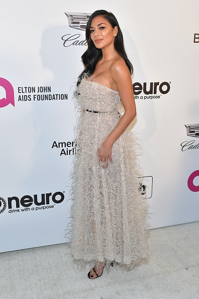 WEST HOLLYWOOD, CA - FEBRUARY 24: Nicole Scherzinger attends the 27th annual Elton John AIDS Foundation Academy Awards Viewing Party celebrating EJAF and the 91st Academy Awards on February 24, 2019 in West Hollywood, California.  (Photo by Amy Sussman/Getty Images)