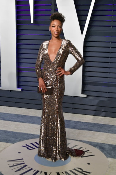 BEVERLY HILLS, CA - FEBRUARY 24:  Samira Wiley attends the 2019 Vanity Fair Oscar Party hosted by Radhika Jones at Wallis Annenberg Center for the Performing Arts on February 24, 2019 in Beverly Hills, California.  (Photo by Dia Dipasupil/Getty Images)