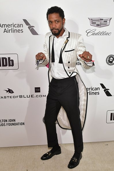 WEST HOLLYWOOD, CA - FEBRUARY 24:  Lakeith Stanfield attends the 27th annual Elton John AIDS Foundation Academy Awards Viewing Party celebrating EJAF and the 91st Academy Awards on February 24, 2019 in West Hollywood, California.  (Photo by Amy Sussman/Getty Images)