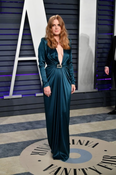 BEVERLY HILLS, CA - FEBRUARY 24:  Amy Adams attends the 2019 Vanity Fair Oscar Party hosted by Radhika Jones at Wallis Annenberg Center for the Performing Arts on February 24, 2019 in Beverly Hills, California.  (Photo by Dia Dipasupil/Getty Images)