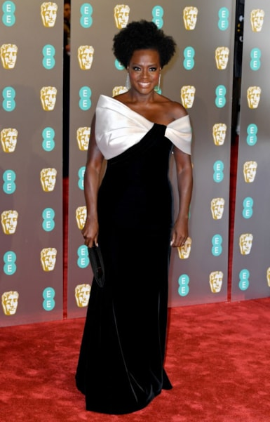 LONDON, ENGLAND - FEBRUARY 10:  Viola Davis attends the EE British Academy Film Awards at Royal Albert Hall on February 10, 2019 in London, England. (Photo by Pascal Le Segretain/Getty Images)