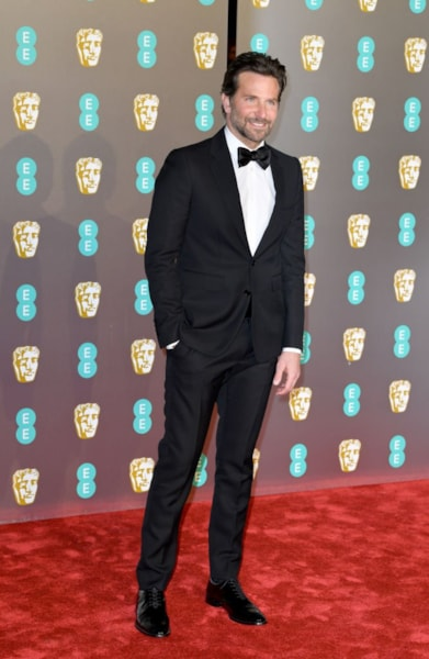 LONDON, ENGLAND - FEBRUARY 10:  Bradley Cooper attends the EE British Academy Film Awards at Royal Albert Hall on February 10, 2019 in London, England. (Photo by Pascal Le Segretain/Getty Images)