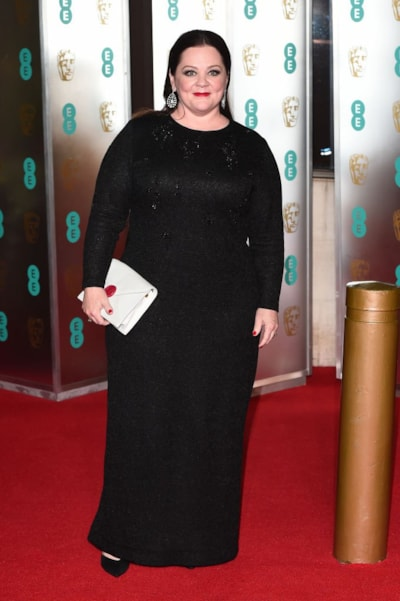 LONDON, ENGLAND - FEBRUARY 10: Melissa McCarthy attends the EE British Academy Film Awards Gala Dinner at Grosvenor House on February 10, 2019 in London, England. (Photo by Eamonn M. McCormack/Getty Images)