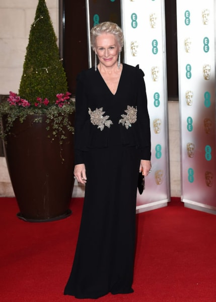 LONDON, ENGLAND - FEBRUARY 10: Glenn Close attends the EE British Academy Film Awards Gala Dinner at Grosvenor House on February 10, 2019 in London, England. (Photo by Eamonn M. McCormack/Getty Images)