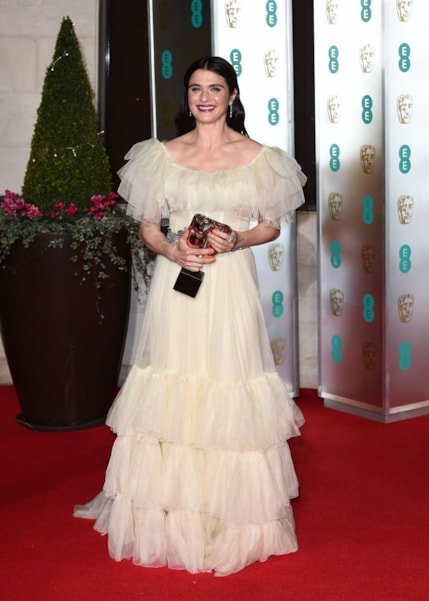 LONDON, ENGLAND - FEBRUARY 10: Rachel Weisz attends the EE British Academy Film Awards Gala Dinner at Grosvenor House on February 10, 2019 in London, England. (Photo by Eamonn M. McCormack/Getty Images)