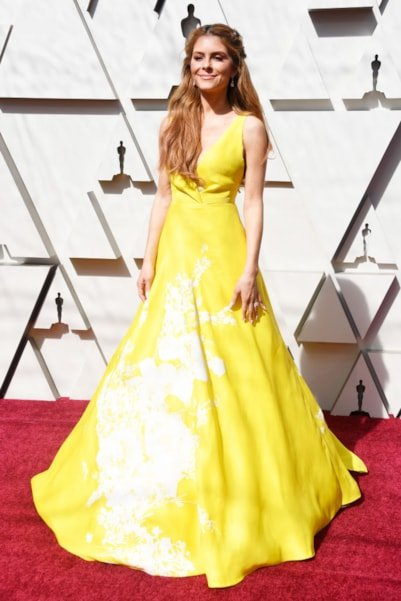HOLLYWOOD, CALIFORNIA - FEBRUARY 24: Maria Menounos attends the 91st Annual Academy Awards at Hollywood and Highland on February 24, 2019 in Hollywood, California. (Photo by Frazer Harrison/Getty Images)