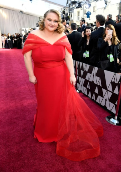 HOLLYWOOD, CALIFORNIA - FEBRUARY 24: Danielle Macdonald attends the 91st Annual Academy Awards at Hollywood and Highland on February 24, 2019 in Hollywood, California. (Photo by Kevork Djansezian/Getty Images)