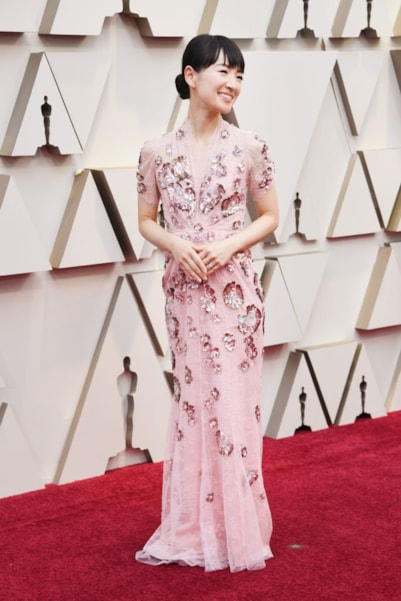 HOLLYWOOD, CALIFORNIA - FEBRUARY 24: Marie Kondo attends the 91st Annual Academy Awards at Hollywood and Highland on February 24, 2019 in Hollywood, California. (Photo by Frazer Harrison/Getty Images)