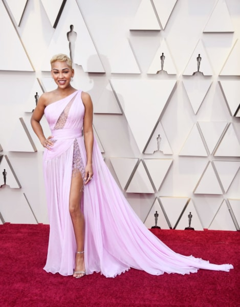 HOLLYWOOD, CALIFORNIA - FEBRUARY 24: Meagan Good attends the 91st Annual Academy Awards at Hollywood and Highland on February 24, 2019 in Hollywood, California. (Photo by Frazer Harrison/Getty Images)