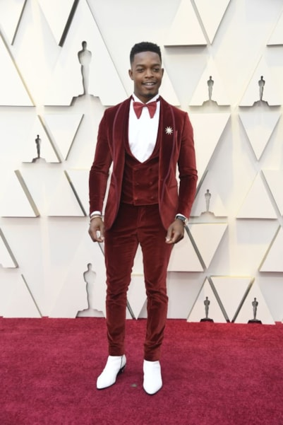 HOLLYWOOD, CALIFORNIA - FEBRUARY 24: Stephan James attends the 91st Annual Academy Awards at Hollywood and Highland on February 24, 2019 in Hollywood, California. (Photo by Frazer Harrison/Getty Images)