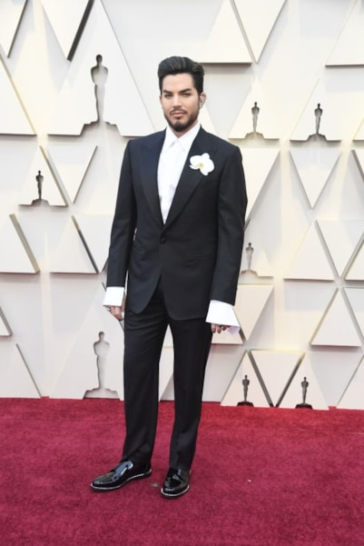 HOLLYWOOD, CALIFORNIA - FEBRUARY 24: Adam Lambert attends the 91st Annual Academy Awards at Hollywood and Highland on February 24, 2019 in Hollywood, California. (Photo by Frazer Harrison/Getty Images)