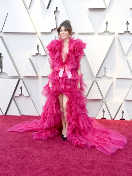 HOLLYWOOD, CALIFORNIA - FEBRUARY 24: Linda Cardellini attends the 91st Annual Academy Awards at Hollywood and Highland on February 24, 2019 in Hollywood, California. (Photo by Frazer Harrison/Getty Images)