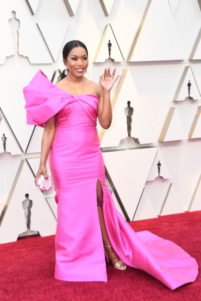 HOLLYWOOD, CALIFORNIA - FEBRUARY 24: Angela Bassett attends the 91st Annual Academy Awards at Hollywood and Highland on February 24, 2019 in Hollywood, California. (Photo by Frazer Harrison/Getty Images)
