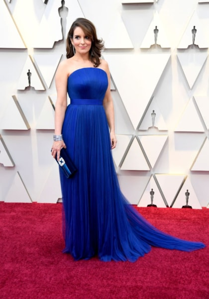 HOLLYWOOD, CALIFORNIA - FEBRUARY 24: Tina Fey attends the 91st Annual Academy Awards at Hollywood and Highland on February 24, 2019 in Hollywood, California. (Photo by Frazer Harrison/Getty Images)