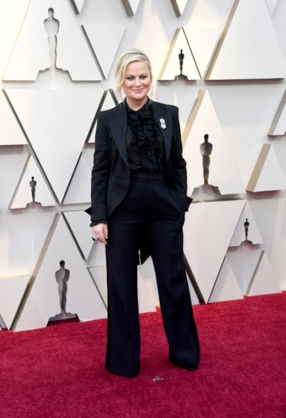HOLLYWOOD, CALIFORNIA - FEBRUARY 24: Amy Poehler attends the 91st Annual Academy Awards at Hollywood and Highland on February 24, 2019 in Hollywood, California. (Photo by Frazer Harrison/Getty Images)