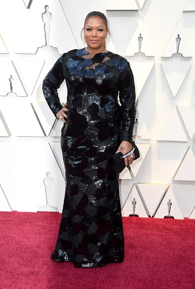 HOLLYWOOD, CALIFORNIA - FEBRUARY 24: Queen Latifah attends the 91st Annual Academy Awards at Hollywood and Highland on February 24, 2019 in Hollywood, California. (Photo by Frazer Harrison/Getty Images)