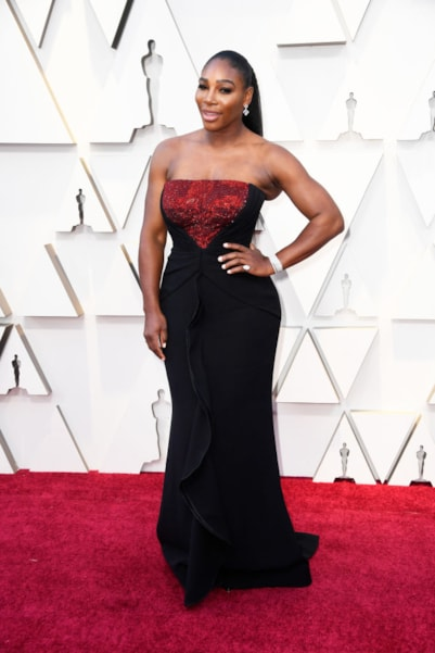 HOLLYWOOD, CALIFORNIA - FEBRUARY 24: Serena Williams attends the 91st Annual Academy Awards at Hollywood and Highland on February 24, 2019 in Hollywood, California. (Photo by Frazer Harrison/Getty Images)