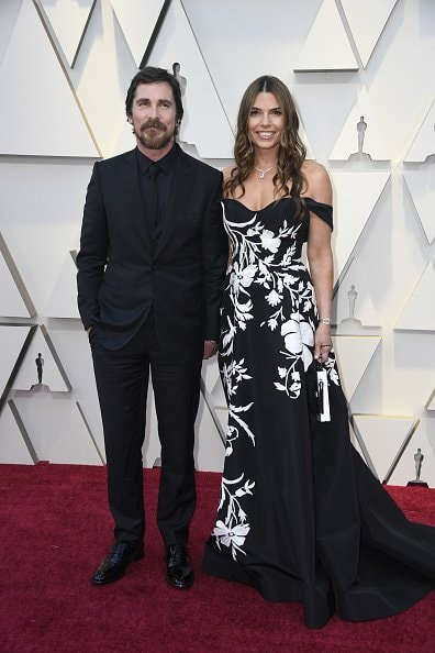 HOLLYWOOD, CALIFORNIA - FEBRUARY 24: Christian Bale and Sibi Blazic attend the 91st Annual Academy Awards at Hollywood and Highland on February 24, 2019 in Hollywood, California. (Photo by Frazer Harrison/Getty Images)