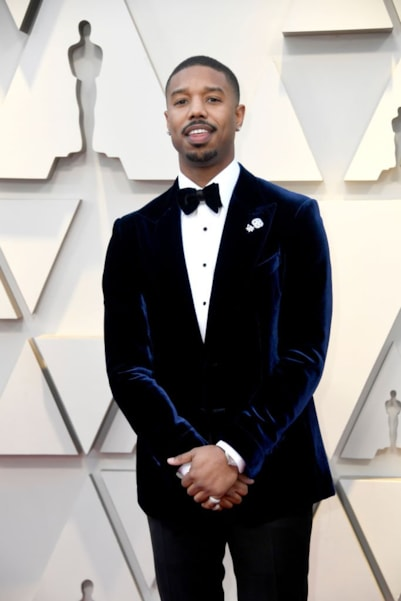 HOLLYWOOD, CALIFORNIA - FEBRUARY 24: Michael B. Jordan attends the 91st Annual Academy Awards at Hollywood and Highland on February 24, 2019 in Hollywood, California. (Photo by Frazer Harrison/Getty Images)