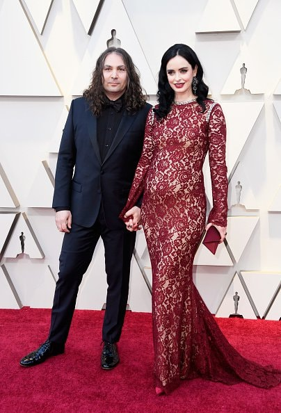 HOLLYWOOD, CALIFORNIA - FEBRUARY 24: (L-R) Adam Granduciel and Krysten Ritter attend the 91st Annual Academy Awards at Hollywood and Highland on February 24, 2019 in Hollywood, California. (Photo by Frazer Harrison/Getty Images)