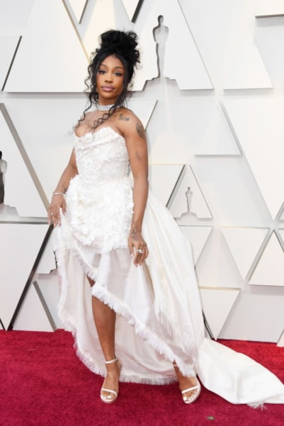 HOLLYWOOD, CALIFORNIA - FEBRUARY 24: SZA attends the 91st Annual Academy Awards at Hollywood and Highland on February 24, 2019 in Hollywood, California. (Photo by Frazer Harrison/Getty Images)