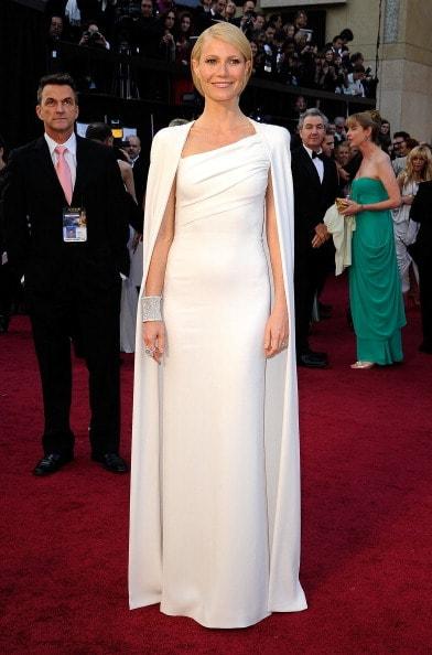 Gwyneth Paltrow in Tom Ford (Photo by Kevork Djansezian/Getty Images)