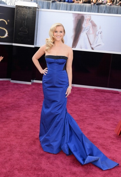 Reese Witherspoon in Louis Vuitton (Photo by Jason Merritt/Getty Images)