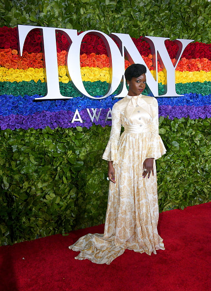 NEW YORK, NEW YORK - JUNE 09: Danai Gurira attends the 73rd Annual Tony Awards at Radio City Music Hall on June 09, 2019 in New York City. (Photo by Nicholas Hunt/Getty Images)