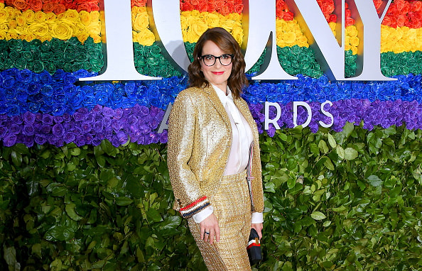 NEW YORK, NEW YORK - JUNE 09: Tina Fey attends the 73rd Annual Tony Awards at Radio City Music Hall on June 09, 2019 in New York City. (Photo by Nicholas Hunt/Getty Images)