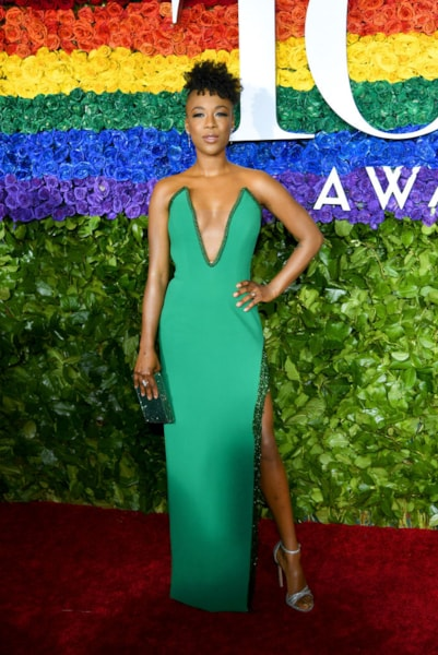 NEW YORK, NEW YORK - JUNE 09: Samira Wiley attends the 73rd Annual Tony Awards at Radio City Music Hall on June 09, 2019 in New York City. (Photo by Dimitrios Kambouris/Getty Images for Tony Awards Productions)