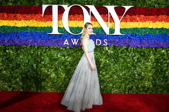 NEW YORK, NEW YORK - JUNE 09: Rachel Brosnahan attends the 73rd Annual Tony Awards at Radio City Music Hall on June 09, 2019 in New York City. (Photo by Dimitrios Kambouris/Getty Images for Tony Awards Productions)