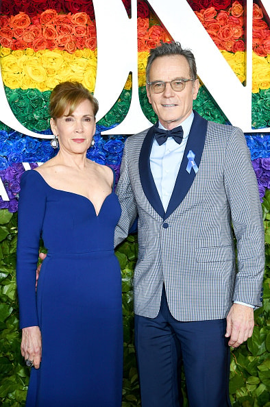 NEW YORK, NEW YORK - JUNE 09: Robin Dearden and Bryan Cranston attend the 73rd Annual Tony Awards at Radio City Music Hall on June 09, 2019 in New York City. (Photo by Dimitrios Kambouris/Getty Images for Tony Awards Productions)